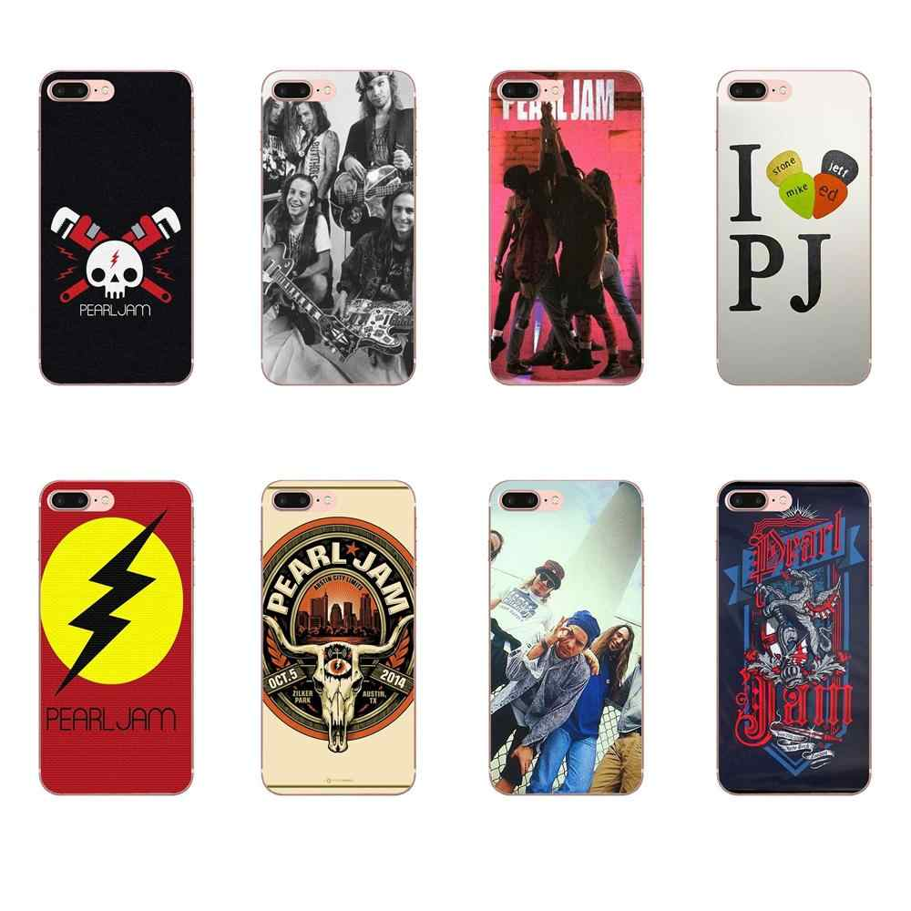 Pearl Jam Lyrics Pattern American Rock Band For Xiaomi Redmi Mi 4 7A 9T K20 CC9 CC9e Note 7 9 Y3 SE Pro Prime Go Play TPU Mobile