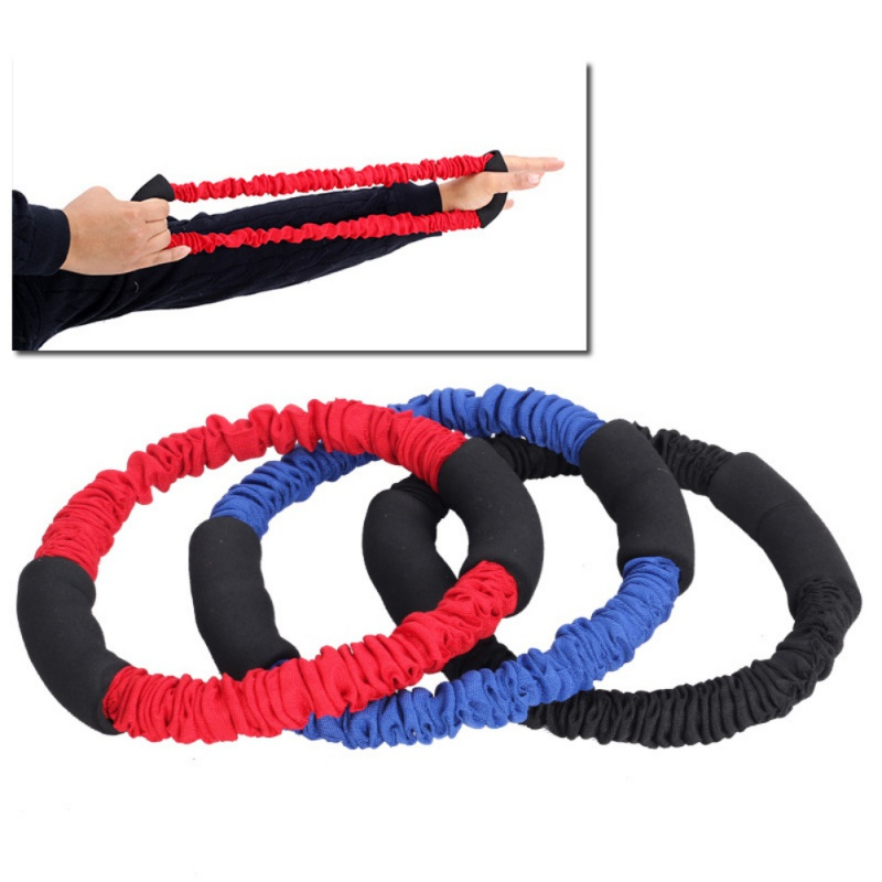 Archery Hand Extensor Exerciser Arm Strength Trainer Finger Strength Resistance Bands Pull Bow Workout Equipment Red