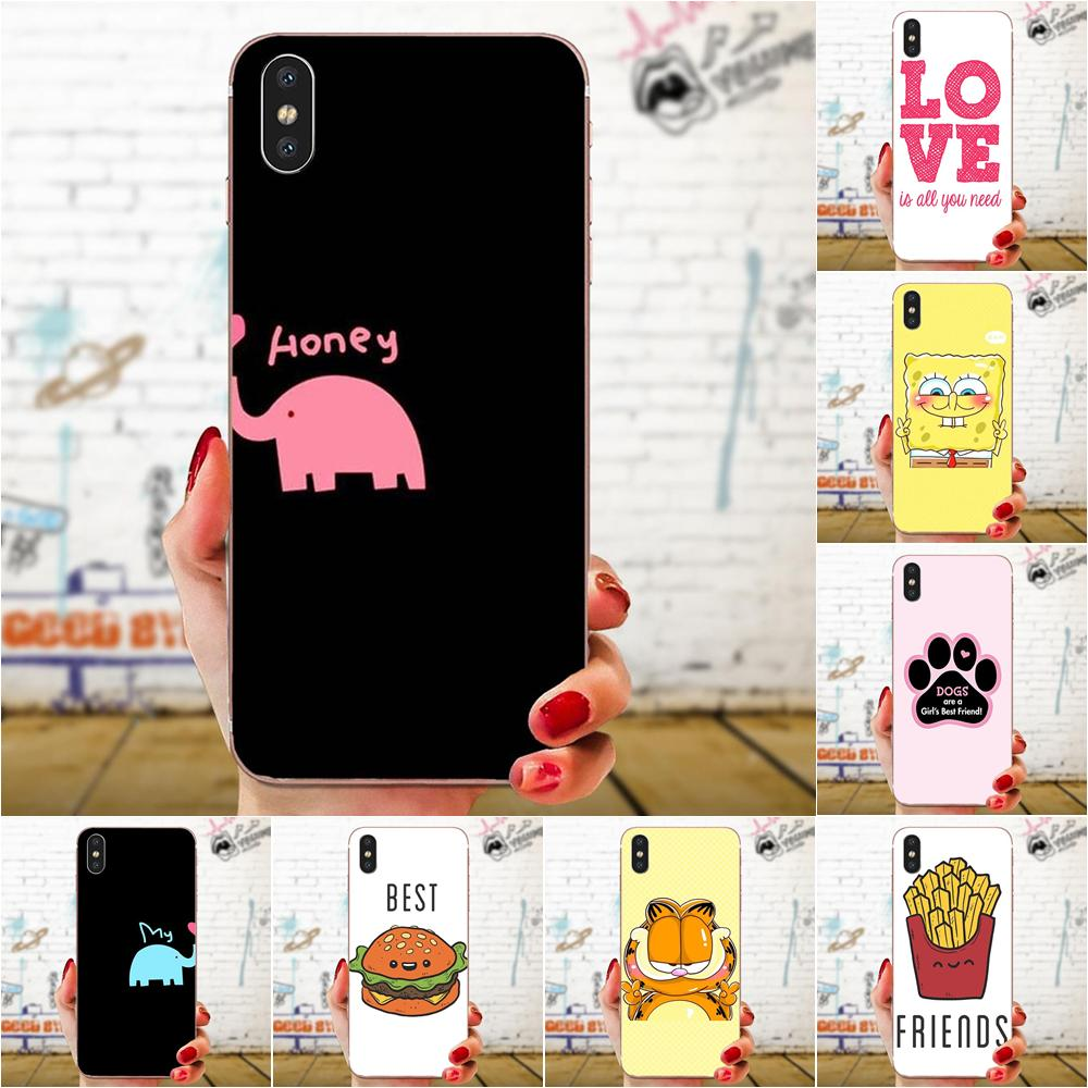 Best Friends Girl Novelty Phone Case Cover For Huawei Nova 2 V20 Y3II Y5 Y5II Y6 Y6II Y7 Y9 G8 G9 GR3 GR5 GX8 Prime 2018 2019 image