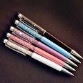 Шариковая ручка с кристаллами, 5 шт./лот, алмазные шариковые ручки, Канцтовары, шариковая ручка, новинка, подарок Zakka, офисные материалы, школь...