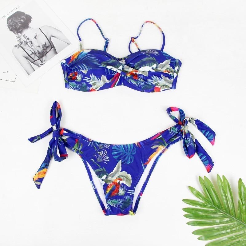 Сексуальный большой купальник пуш-ап бикини женский купальник размера плюс пляжный женский купальник бикини купальный костюм бразильский ... 19