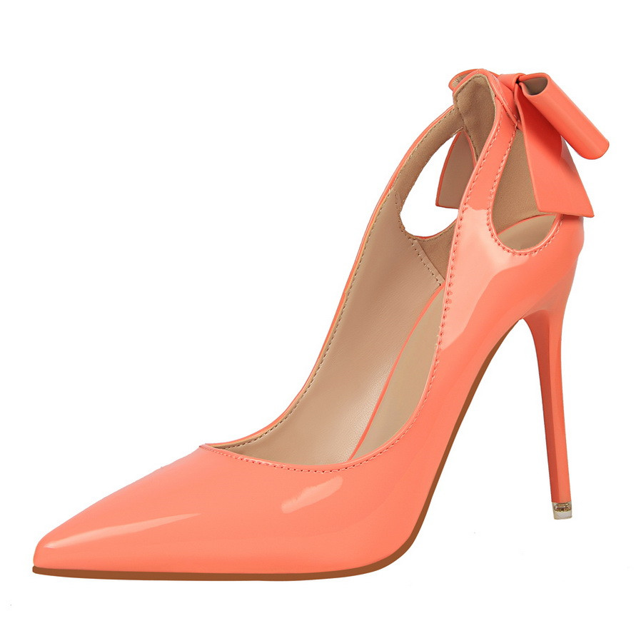 Hot Sale Women Pumps Red Black Shoes High Heels Sexy Pointed Toes Wedding Stiletto Heel Office Lady Dress Shoes Casual K0121