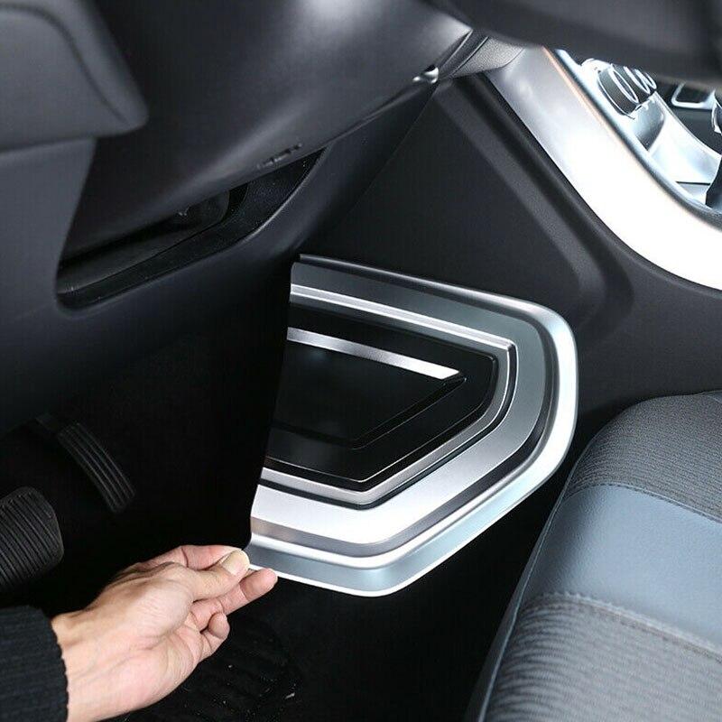 1 paire ABS argent côté U forme panneau couverture garniture pour Land Rover Range Rover Sport 2014-2019 panneau couverture garniture