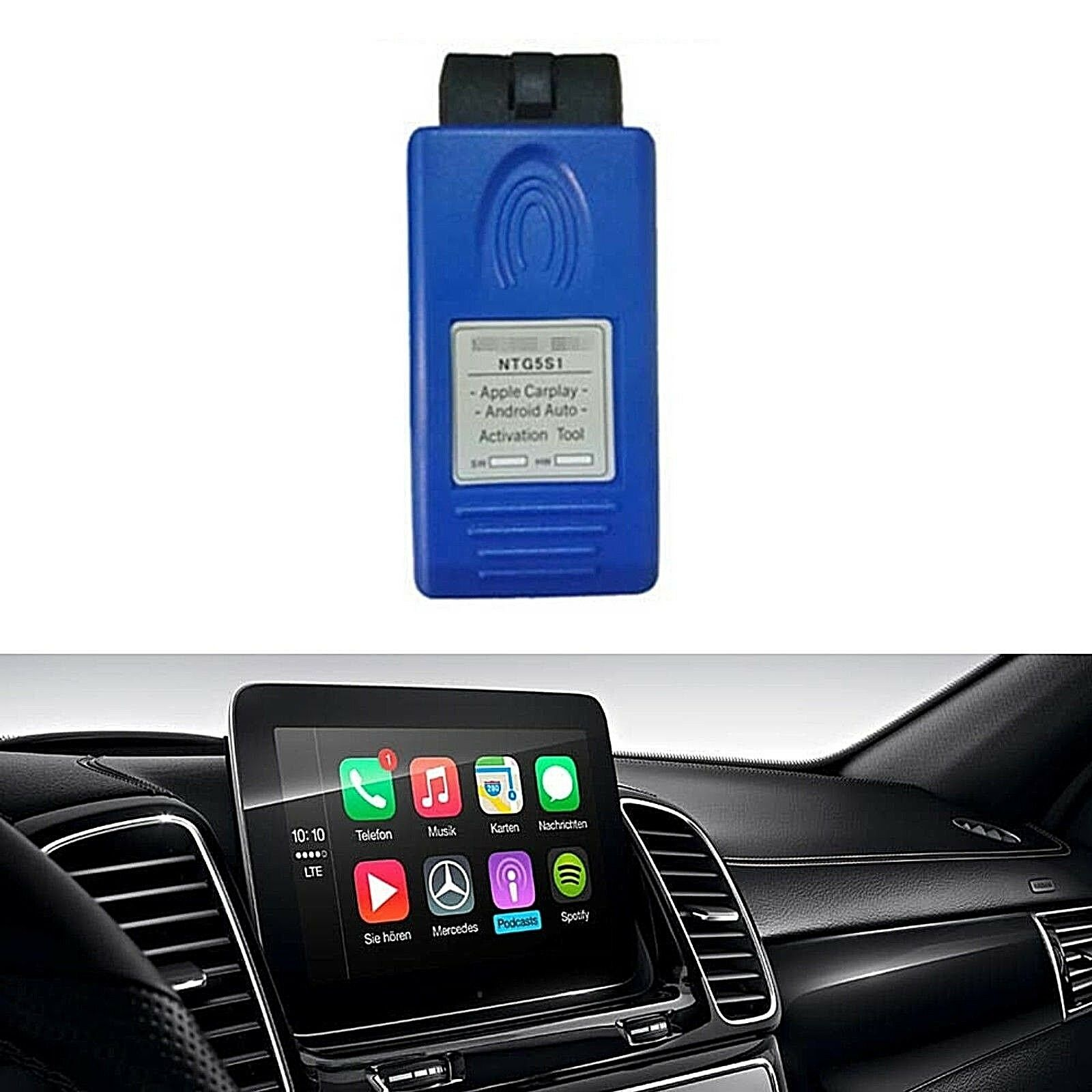 For Mercede Bens NTG5 S1 A/B/CLA/GLA/GLE/CLS Auto Carplay Activation Tools Ntg5s1