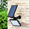 Solar Power Lamp 48 Leds Zonne-straat Licht Voor Outdoor Garden Wall Yard Led Beveiliging Verlichting Adustable Verlichting Hoek 280lm