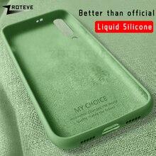 Mi 9 Case ZROTEVE Liquid Silicone Cover For Xiaomi Mi9 Mi8 Pro Case Xiomi Mi9 SE Cover For Xiaomi Mi 9T Mi 8 9 Lite CC9 Pro Case