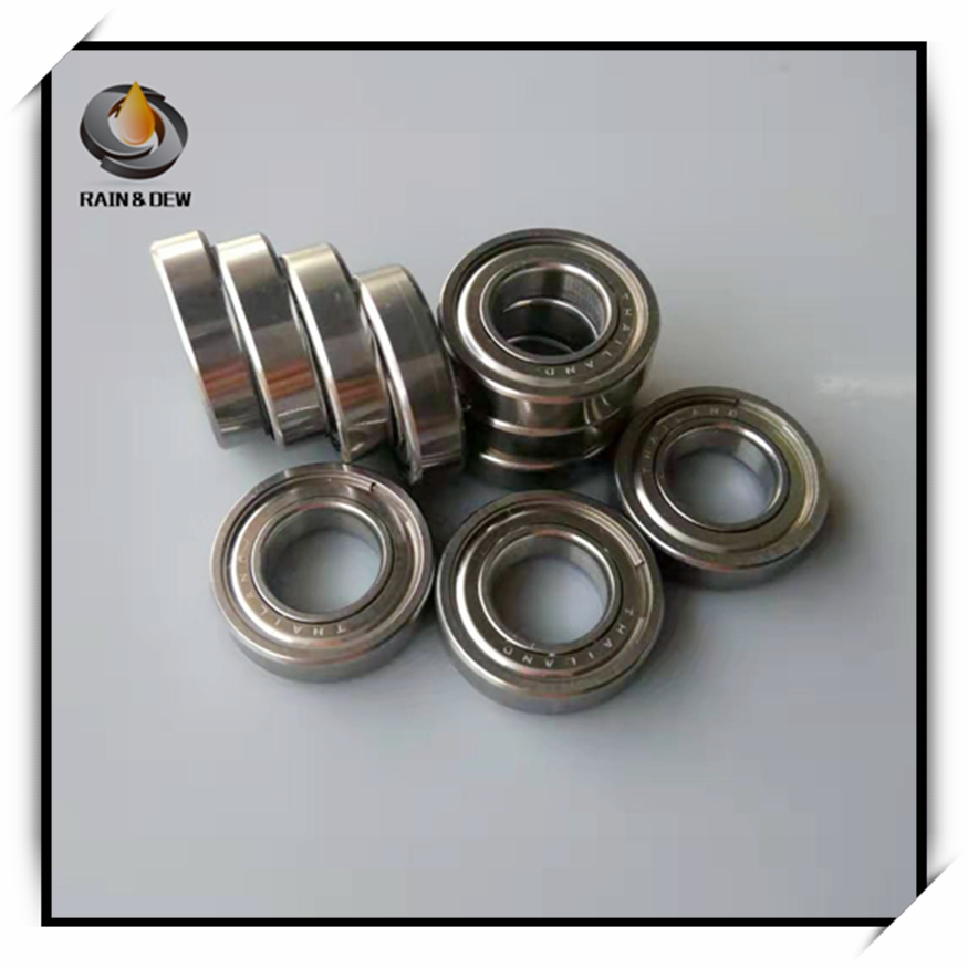 S 6800X1 MR2010ZZ 10205 Bicycle special ball bearings <font><b>6800ZZ</b></font> 10x20x5 Stainless Steel Ball Bearing ABEC-9 image