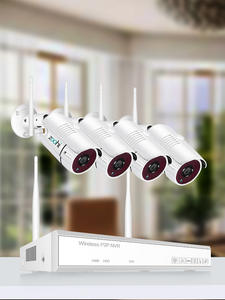 Zoohi WIFI Camera Surveillance-Kit Video Night-Vision Home-Security Wireless HD 1080P