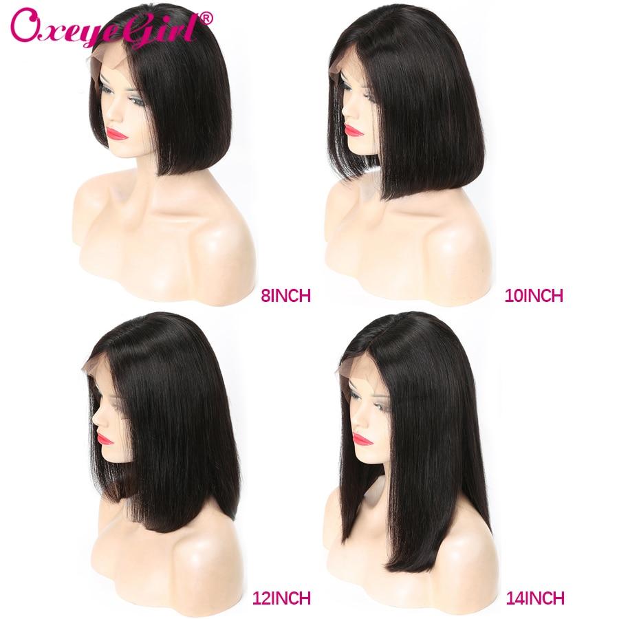 Hot Sale 13x6 Bob Lace Front Wigs Straight Remy Hair Short Human Hair Wigs Brazilian Hair Pre Plucked Lace Front Human Hair Wigs Pakistan