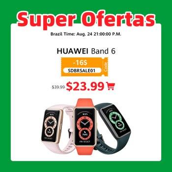 Huawei Band 6 Smartband Blood Oxygen 1.47''AMOLED Band6 Heart Rate Tracker Sleep monitoring Band 6 【CODE:EOSSAFF7 50-7$】 1