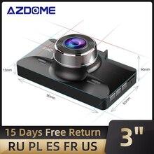 "AZDOME M01 Pro 3 ""หน้าจอIPS FHD DVR 1080P Dash Cam Night Vision Car Recorder DVR"