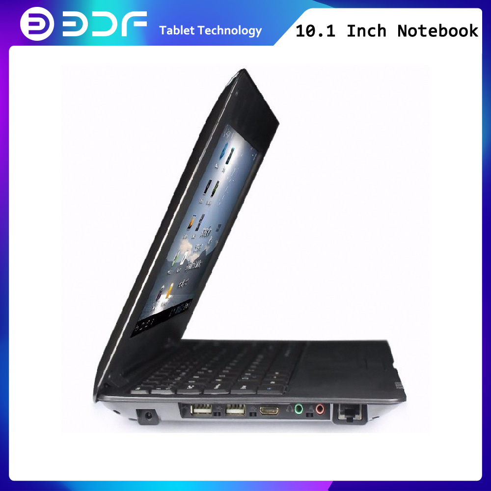 BDF New Design 10.1 Inch Notebook Android Laptop  Quad Core Android 6.0 1024x600 1.5GHZ  Wi-fi Bluetooth Mini 10 Inch Tab