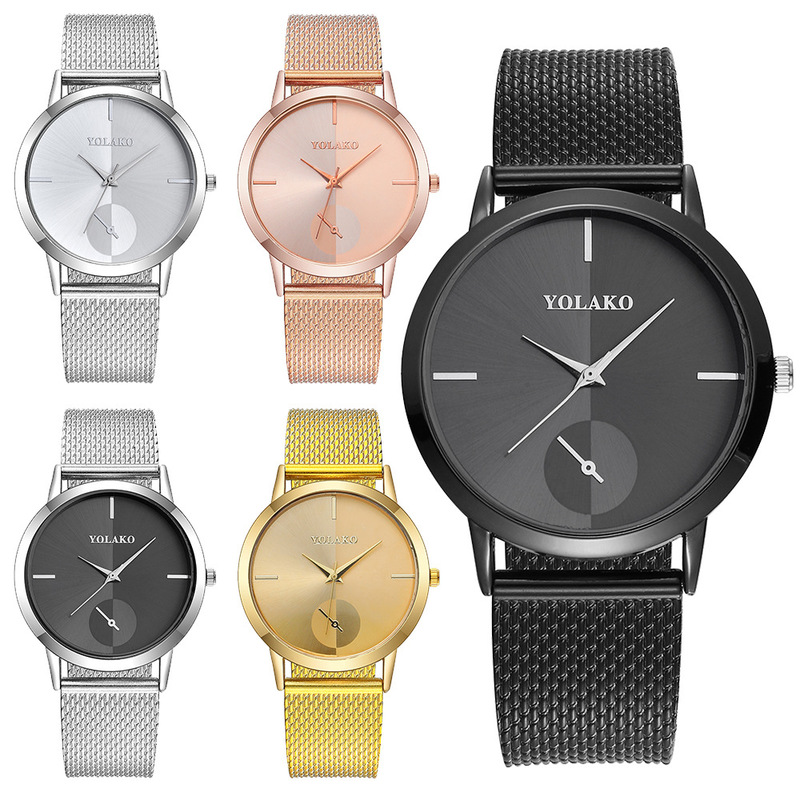 Hot Selling Men's And Women's Watches, Students' Business Quartz Watches, Manufacturers' Direct Sales And Spot Sales