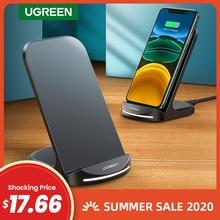 Ugreen Qi Senza Fili Del Caricatore Del Basamento per il iPhone 11 Pro X XS 8 XR Samsung S9 S10 S8 S10E Veloce Senza Fili stazione di ricarica Caricatore Del Telefono
