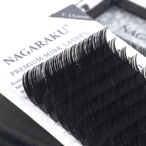 Image 5 - NAGARAKU 6 cases bulk 7~15mm MIX Faux mink eyelash extension natural 16rows lash trays  individual eyelashes makeup  cilios