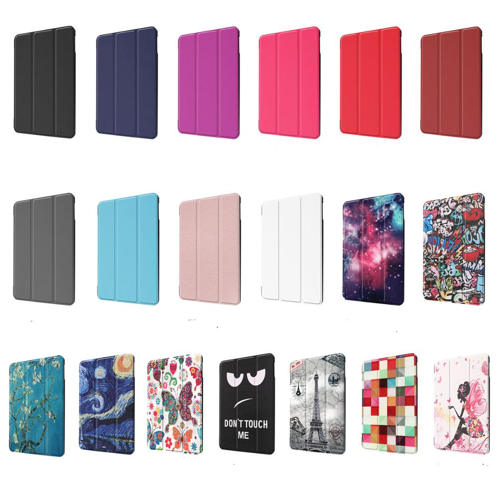 High Quality Cover <font><b>Case</b></font> for <font><b>iPad</b></font> <font><b>Mini</b></font> 4 <font><b>Mini</b></font> <font><b>5</b></font> PU <font><b>Leather</b></font> shell Trifold Stand Sleep Smart Cover for <font><b>iPad</b></font> <font><b>Mini</b></font> <font><b>5</b></font> <font><b>2019</b></font> <font><b>Case</b></font> Funda image