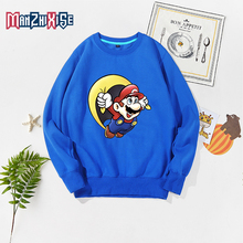 2019 Autumn Winter Children Boy Sweatshirt New Boys Clothes Girls Hoodies Spring Kids Clothing Long Sleeve Childrens Tops Mario