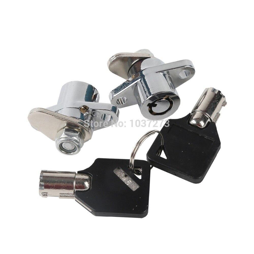 Preminum Hard Black Saddle Bags Lock & Keys Set For Harley Road Glide King