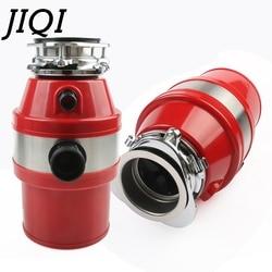 JIQI Food Waste Disposer Processor 370W Garbage Disposal Crusher Alloy Air Switch Stainless steel Grinder Kitchen Sink Appliance
