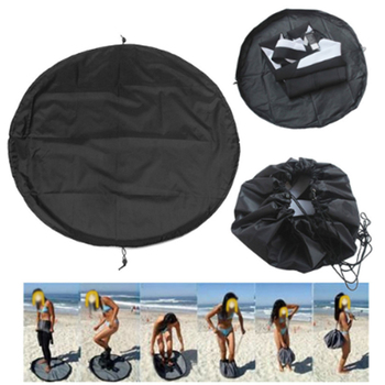 цена на Water Sports Surfing Wetsuit Diving Suit Change Bag Mat Waterproof Nylon Carry Pack Pouch for Water Sports Swimming Accessories