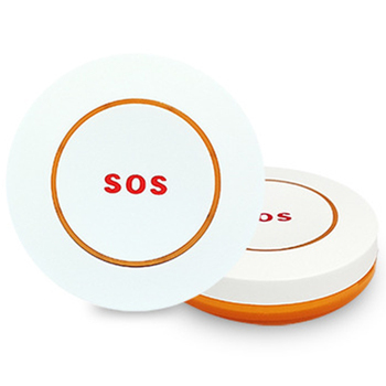 2Pcs Wireless SOS Button Emergency Button for Help Gsm Alarm System SOS Button for Emergency gold color emergency alarm button 86 86mm fire alarm emergency switch alarm access control switch with key
