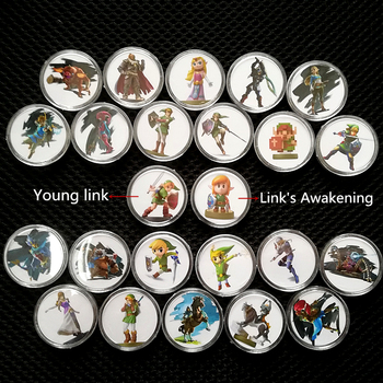 Juego de 24 unids/set Zelda Breath Of the Wild, colección de juegos,...
