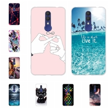 For Alcatel 1X 2019 Phone Case Ultra Thin Soft TPU Silicone Cover Cartoon Pattern Shell