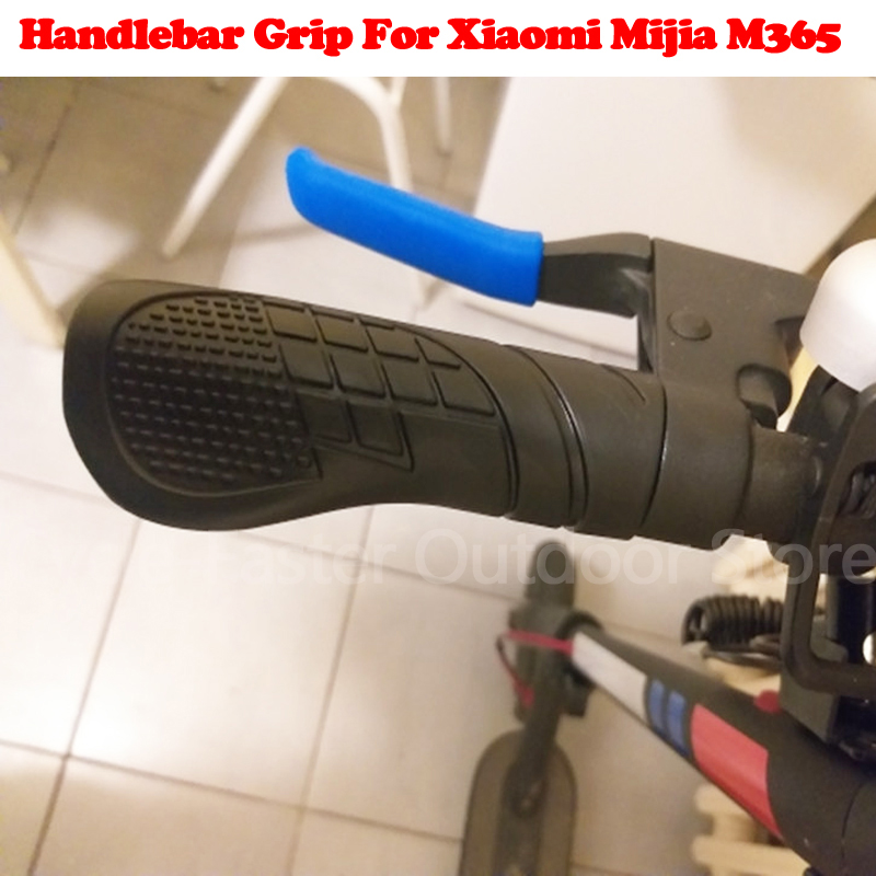 Handlebar Grips Set for Xiaomi Mi M365 Electric Scooter Grip Fixed Gear Anti-Skid Rubber Handlebar Grips For Xiaomi M365 Parts