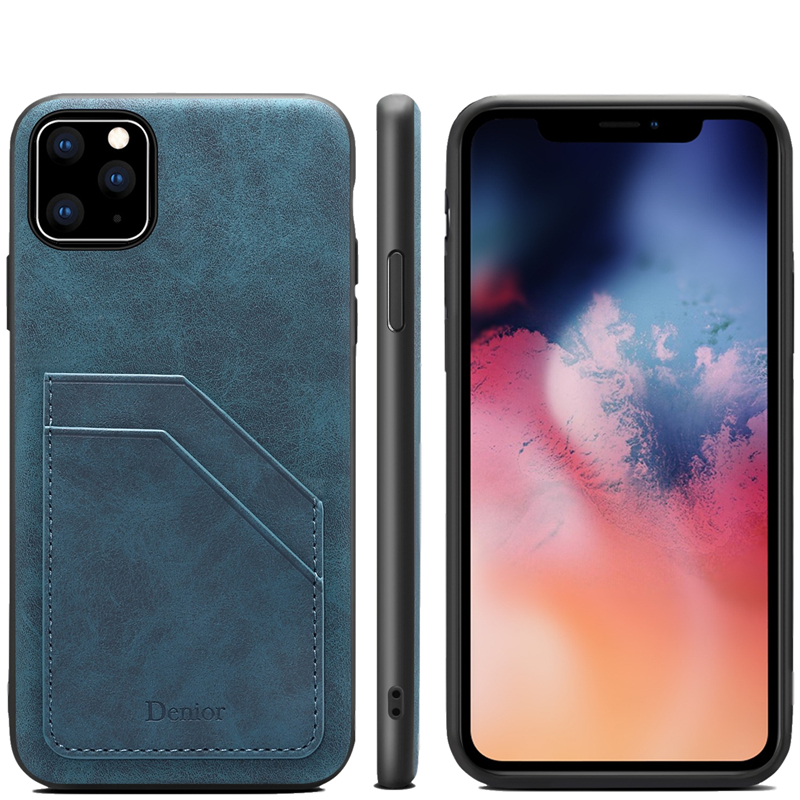 Double Card Leather Case for iPhone 11/11 Pro/11 Pro Max 10