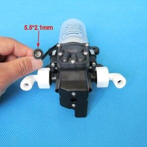 Image 2 - 2L/Min 12V 15W מאוד שקט מים מטהר מים מסנן מערכת מקלחת שטיפת מכוניות בלחץ dc סרעפת מים משאבת