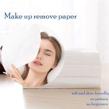 Хлопок средство для снятия макияжа с рулон Бумага одноразовые