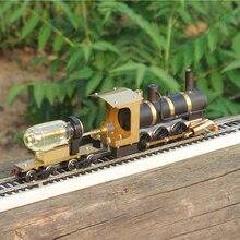 รถไฟไอน้ำรุ่น Steam Locomotive รุ่น Steam ไดรฟ์ HO สัดส่วน Live Steam เครื่องยนต์