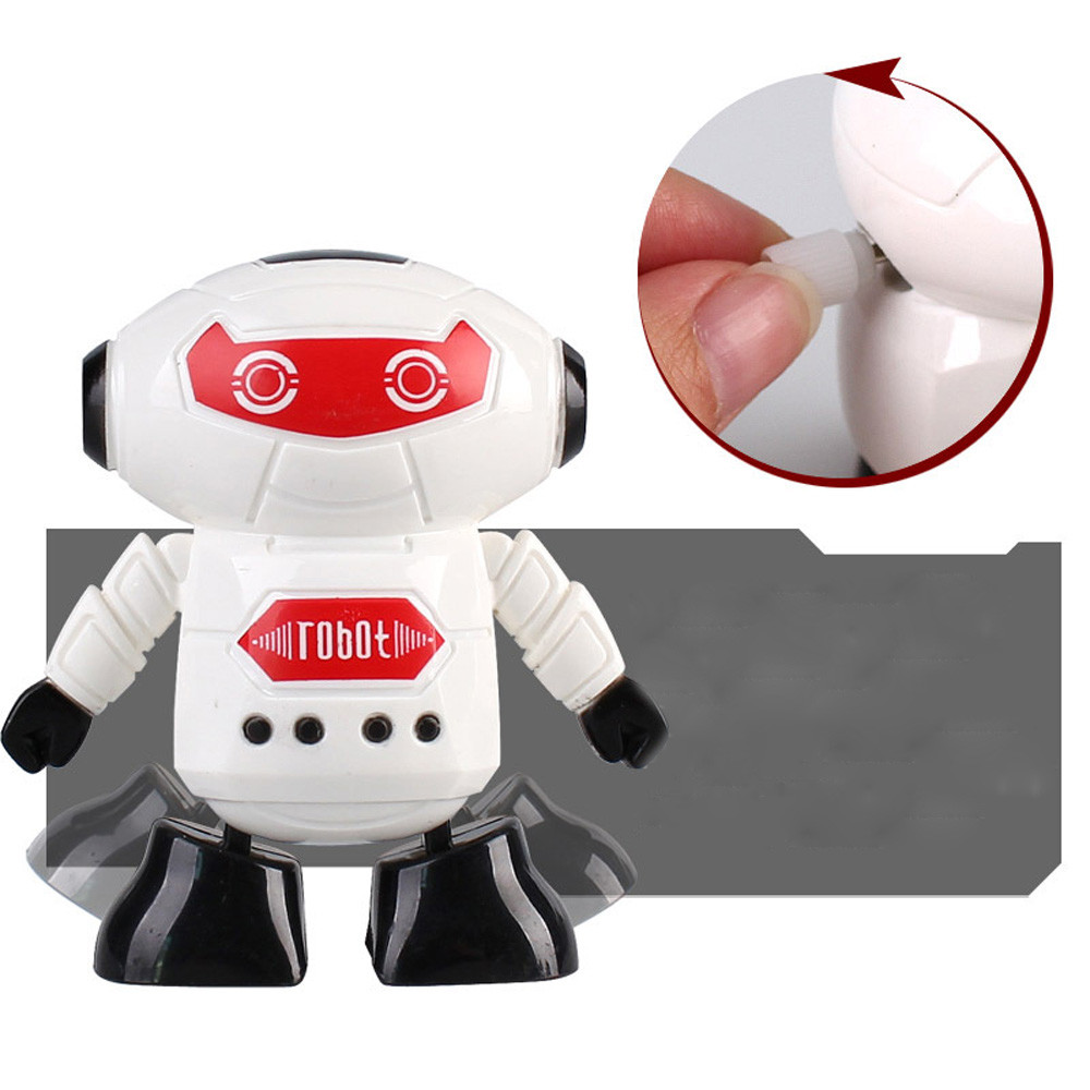 Wind-up Toy Wind-up Winding Cyclone Robot Clockwork Wind Up Running Robot Toy For Baby Kids Developmental Gift Puzzle Toys L0225