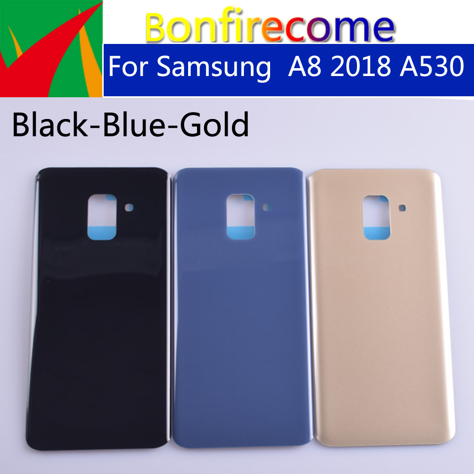 10pcs\lot For Samsung Galaxy A8(A5) 2018 A530 A530F SM-A530DS SM-A530F Housing Back Battery Cover Case Rear Door Chassis Shell