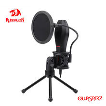Redrogon GM200 Quasar2 Omni USB Condenseur Enregistreur Pour Ordinateur Cardioïde Studio Enregistrement Voix Plus
