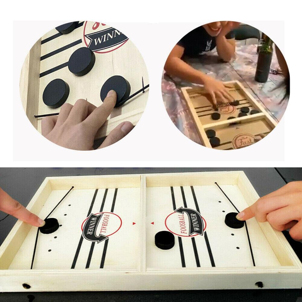 מהיר קלע פאק משחק בקצב קלע פאק זוכה לוח משפחת משחקי צעצועי ילד Juego לוח שחמט שחמט ילד משחקים