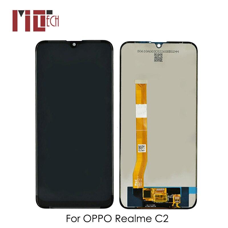 Écran LCD pour OPPO Realme C2 RMX1941 écran LCD écran tactile numériseur verre Combo assemblage pièces de rechange 6.1 pouces TFT
