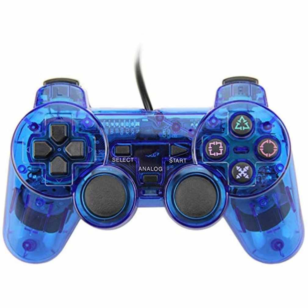 Kabel Controller Gamepad untuk Sony PS2 Playstation2 Dual Shock Konsol Video Game Joystick Gamepad Kabel Panjang Joypad Dropship