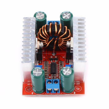 цена на DC-DC 400W 15A Step-up Boost Converter Adjustable Power Supply Module 8.5-50V to10-60V LED Driver Voltage Charger Step Up Module