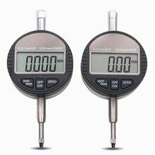 0-12,7 мм ЖК-цифровой микрометр 0,01/0,001 мм Электронный микрометр измеритель глубины микрометр циферблат