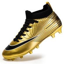 Мужская футбольная обувь детские футбольные бутсы Женские Дышащие