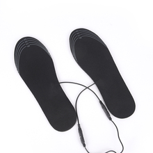 Shoe-Inserts Electric-Heated-Insoles Warm-Socks Winter for Boot Usb-Charging-Cables Men