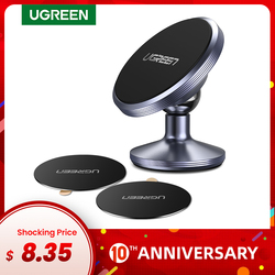Ugreen Magnetic Phone Holder for iPhone X 8 Samsung S9 Plus Car Holder for Phone in Car for Dashboard Mobile Phone Holder Stand
