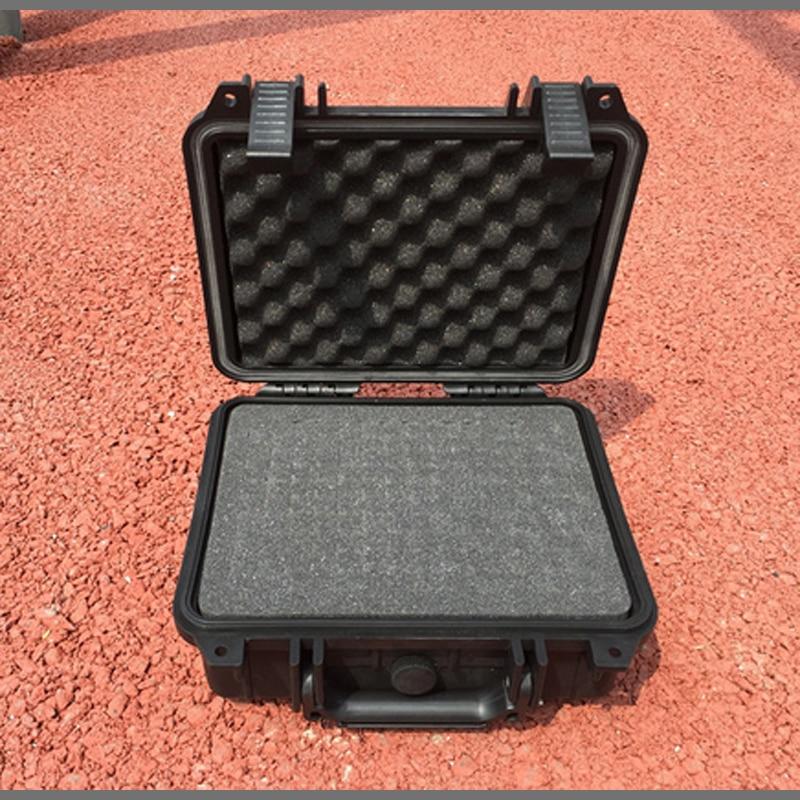 Gereedschapskoffer gereedschapskoffer koffer Slagvast afgedichte waterdichte kunststof koffer apparatuur doos camerahoes Meterkast met voorgesneden schuim