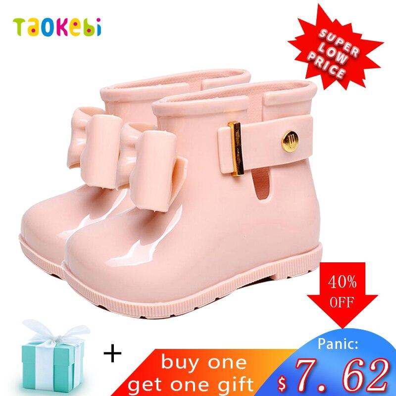 Waterproof Shoes Kids Children Baby Toddler Girls Rain Boots Rainboots Bottes De Pluie Fille Botas De Agua Regenlaarzen Camperas