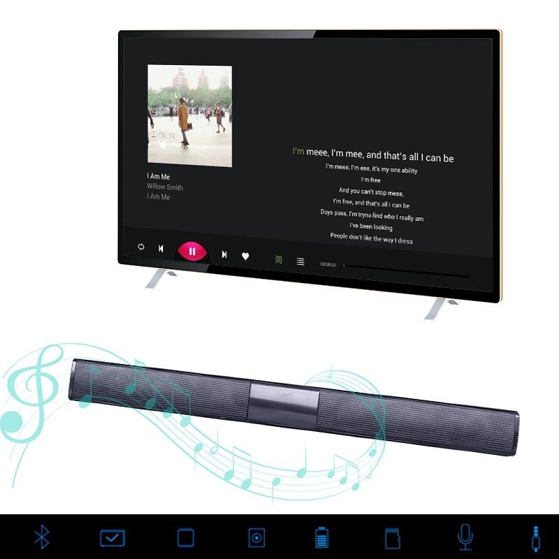 VTIN BS28B Wireless Bluetooth Soundbar Speaker TV Home Theater Soundbar Subwoofer with RCA 3D Stereo Surround Sound Speaker (15)