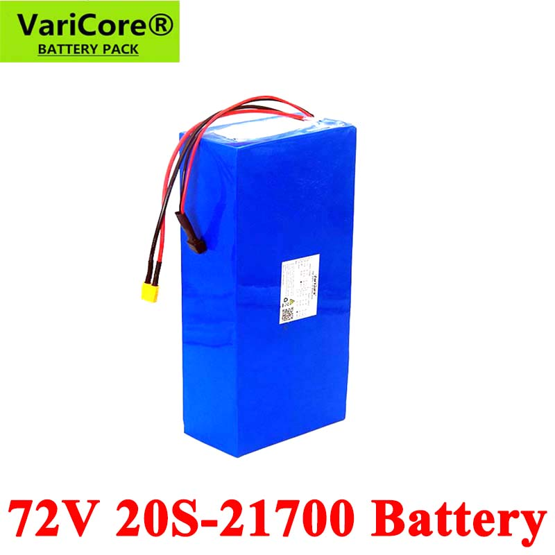 VariCore 74V 20Ah 25Ah <font><b>40Ah</b></font> 50Ah 15Ah 20S 2500W e-bike <font><b>battery</b></font> 21700 <font><b>72V</b></font> electric scooter <font><b>lithium</b></font> <font><b>battery</b></font> with BMS Protection image