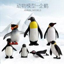 Горячая Распродажа модель морского организма модель океанов модель животного Пингвин модель игрушки Мульти