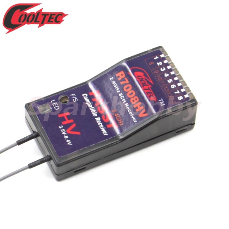 Cooltechnology r7008hv 8-13ch compatível fást receptor futaba 14sg 16sg 16sz 18sz 18mz wc sistemas de aire multi modo 7008