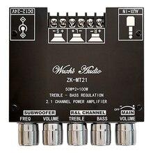 ZK-MT21 2.1 Bluetooth 5.0 Subwoofer Amplifier Board Audio Stereo Amplifier Module
